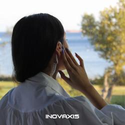 Inovaxis Mikrofonlu Gizli Ajan Koruma Spiker Telsiz Telefon Kulaklığı
